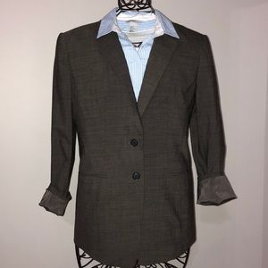 Ann Taylor Women's Sz 4 wool blend suit jacket